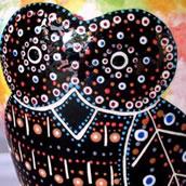 Mana Pottery owl design design