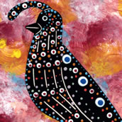 Mana Pottery quail design