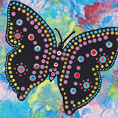 Mana Pottery butterfly design thumbnail