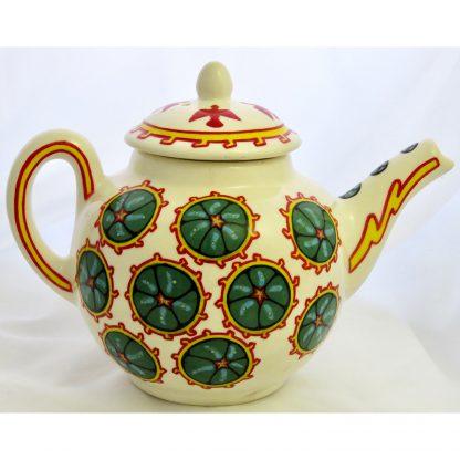 Mana Pottery Peyote and Firebird teapot.