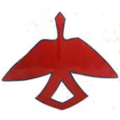 Mana Pottery Firebird design