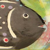 Mana Pottery fish design