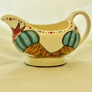 Mana Pottery Peyote and Firebird gravy boat.