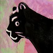 Mana Pottery cougar design