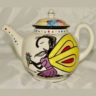 Mana Pottery Peyote Guardian Spirit teapot