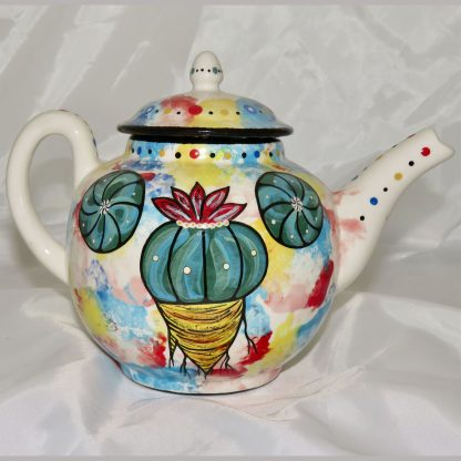 Mana Pottery Peyote Guardian Spirit teapot