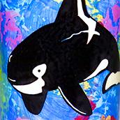 Mana Pottery orca design